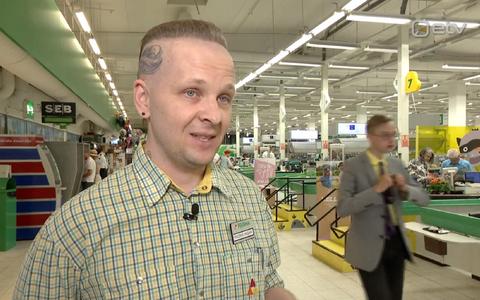 Kaubandustöötaja Fridrixi sõnul on tema enda päevane rekord 47 kilomeetrit.