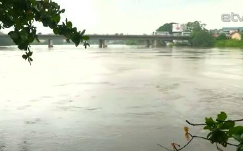 Наводнение на Шри-Ланке.