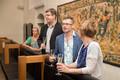 Открытие литературного фестиваля HeadRead в Таллиннской ратуше.