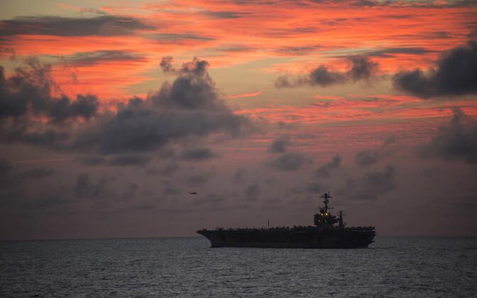 USA sõjalaev USS John C. Stennis 2016. aastal RIMPAC-i õppustel.