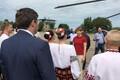 President Kersti Kaljulaid Donetski oblastis Kramatorski linnas.