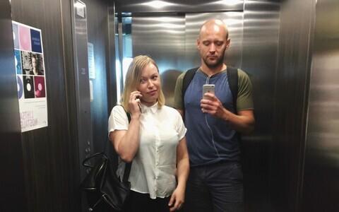 Keiti Vilms (vasakul) ja Oliver Lomp.
