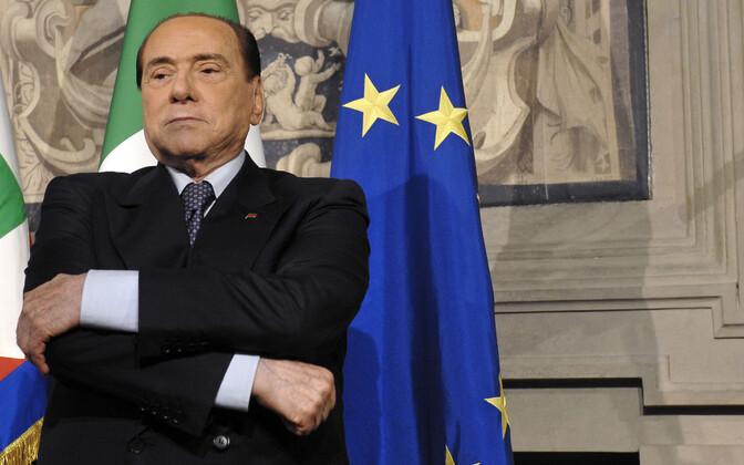 Forza Italia juht ja Itaalia endine peaminister Silvio Berlusconi.