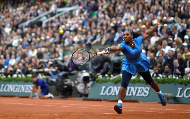 Serena Williams 2016. aasta Prantsusmaa lahtistel.