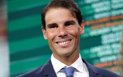 Rafael Nadal põhitabeli loosimisel.