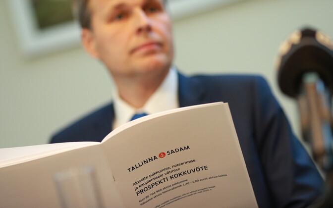 Valdo Kalm ja Tallinna Sadama IPO prospekt
