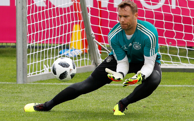Manuel Neuer treeningul
