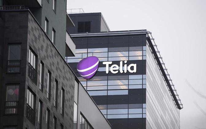 Telia peakontor Stockholmis.