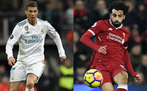 Mohamed Salah ja Cristiano Ronaldo