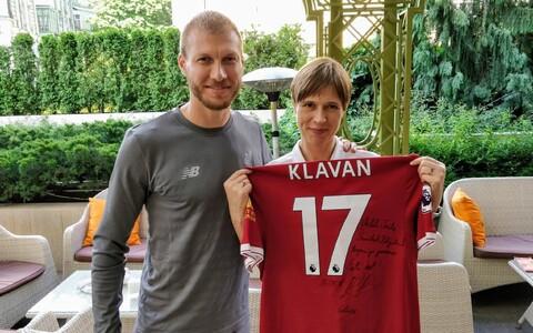 Ragnar Klavan ja Kersti Kaljulaid