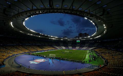 Kiievi olümpiastaadion, kus lähevad vastamisi Meistrite liiga finaalmängus Liverpool ja Madridi Real