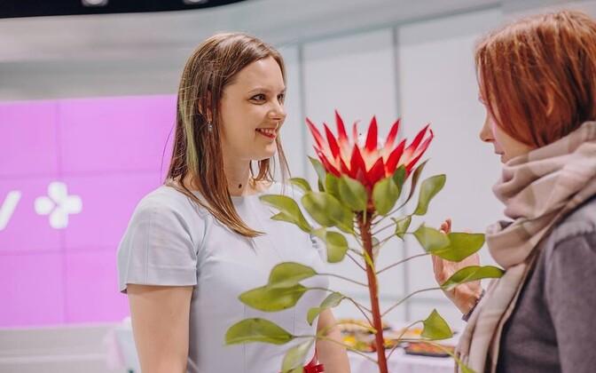 В студии ETV+ отметили закрытие сезона и попрощались с главредом Дарьей Саар.