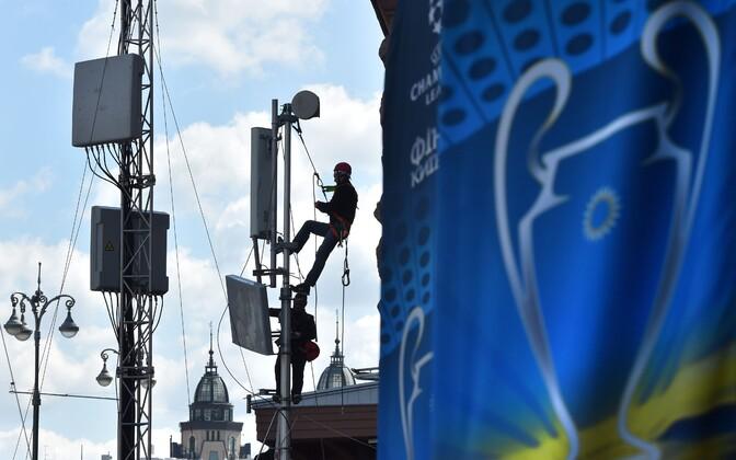 Киев перед финалом Лиги чемпионов.