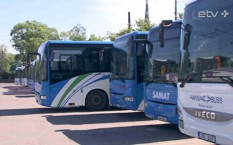 Автобусы уездных линий.