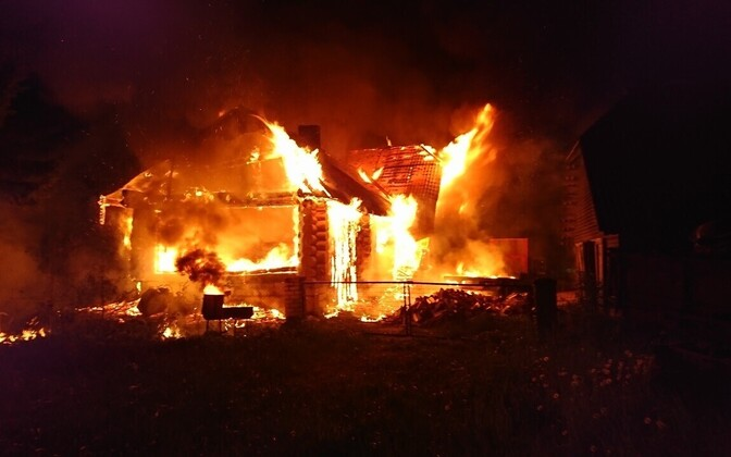 Пожар в Йыгевамаа