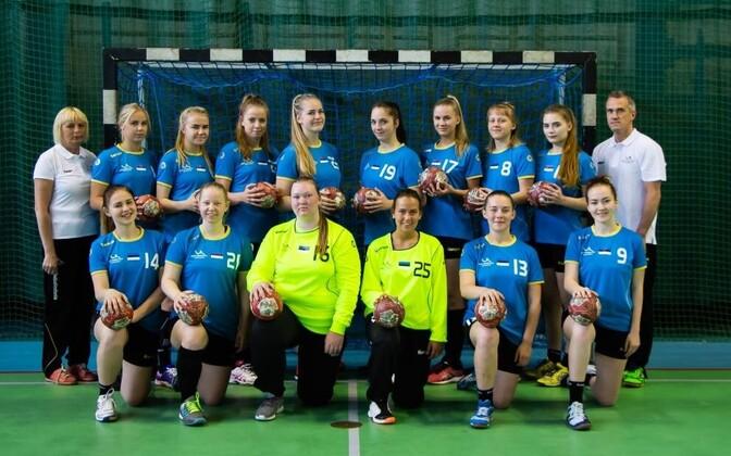 Eesti kuni 18-aastaste neidude koondis.