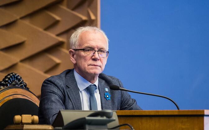 President of the Riigikogu Eiki Nestor
