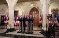 Премьер-министр Эстонии Юри Ратас и премьер-министр Канады Джастин Трюдо