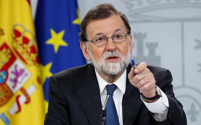 Hispaania peaminister Mariano Rajoy.