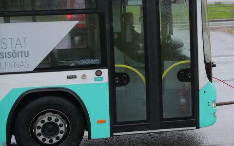 Городской автобус.