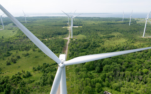 Wind Turbines at Paldiski Wind Farm