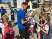 Jalgpallikoondis kohtus Rakvere linnaelanikega.
