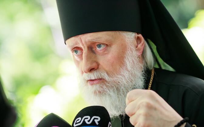 Moskva patriarhaadi Eesti õigeusu kiriku uueks metropoliidiks valitud Vereja Eugeni.