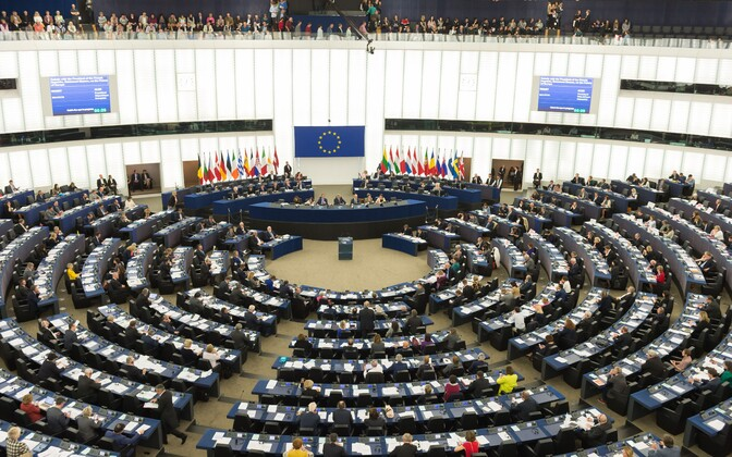 Euroopa Parlament Strasbourg'is.