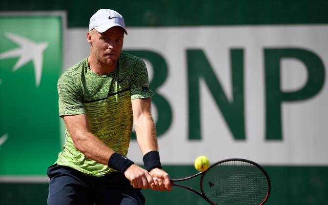 Юрген Зопп на турнире Roland Garros