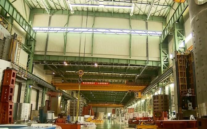Завод в Китае.