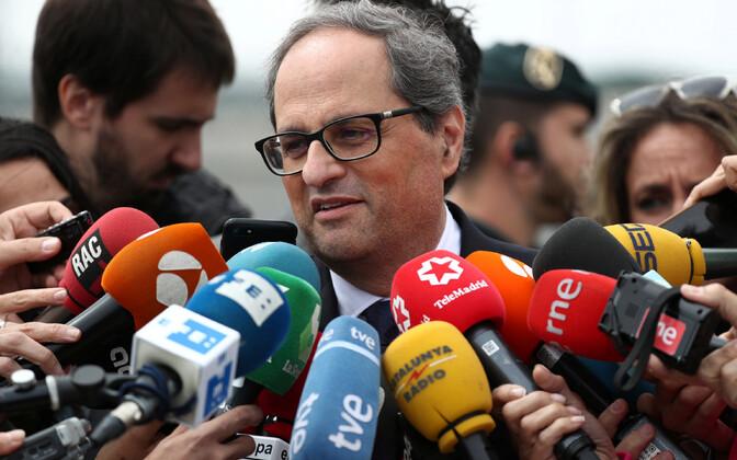 Kataloonia poliitik Quim Torra.