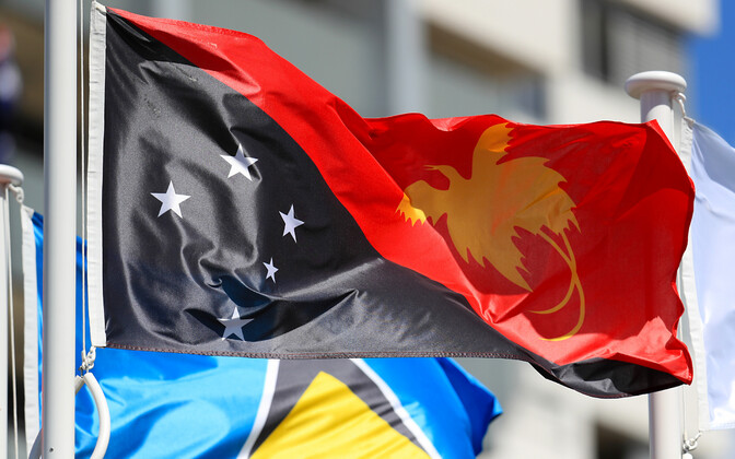 Paapua Uus-Guinea lipp.