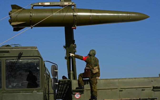 Vene raketisüsteem Iskander-M.