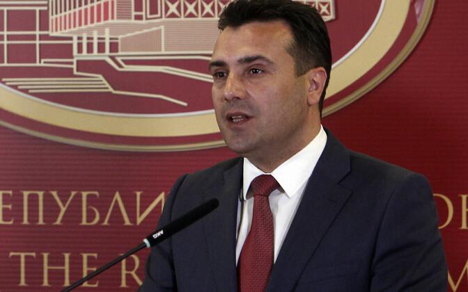 Makedoonia peaminister Zoran Zaev.