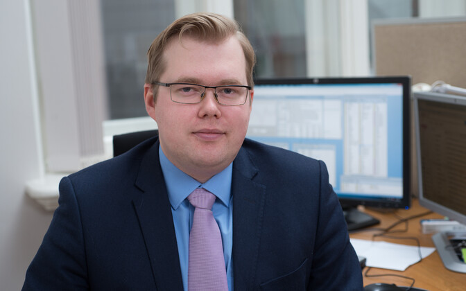 Bank of Estonia economist Kaspar Oja.
