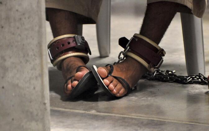 USA hoiab terrorismis kahtlustatavaid Guantanamo vanglas.
