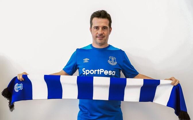 Marco Silva Evertoni värvides
