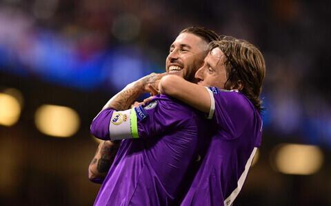 Sergio Ramos, Luka Modric