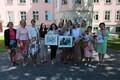 Lastekaitsepäeva tähistamine presidendi roosiaias