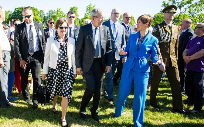 В 2018 году в Тамсалу приезжала президент Керсти Кальюлайд.
