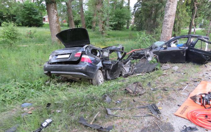 Traagiline liiklusõnnetus Raplamaal.