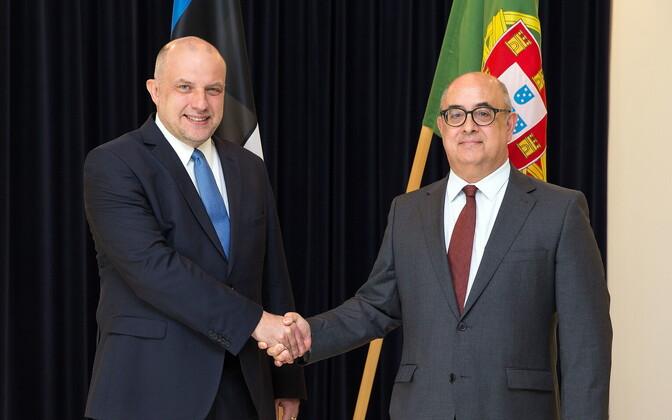 Jüri Luik ja José Alberto Azeredo Lopes.