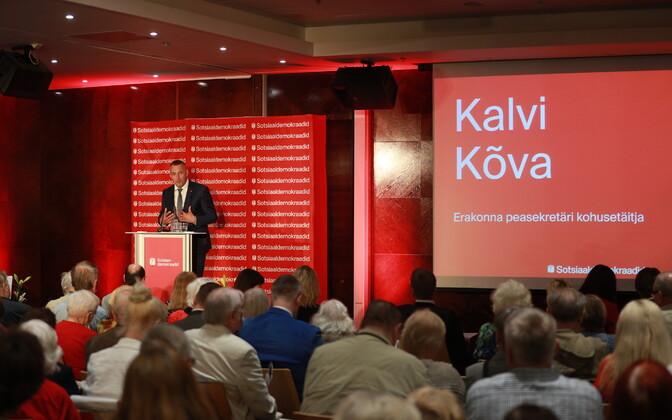 Sotsiaaldemokraatide üldkogu.