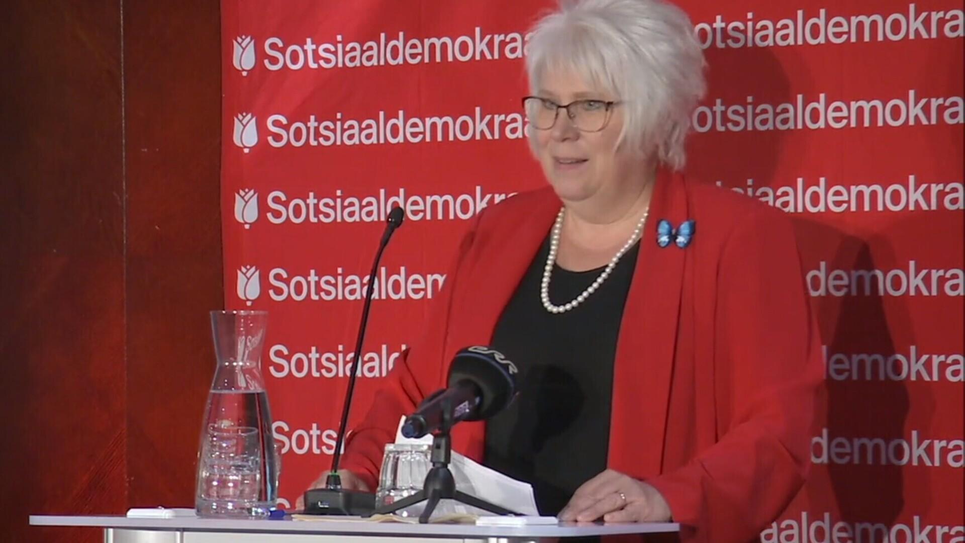 ba020efb4b3 Marina Kaljurand liitus sotsiaaldemokraatidega | Eesti | ERR