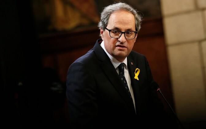 Председатель регионального правительства Каталонии Ким Торра.