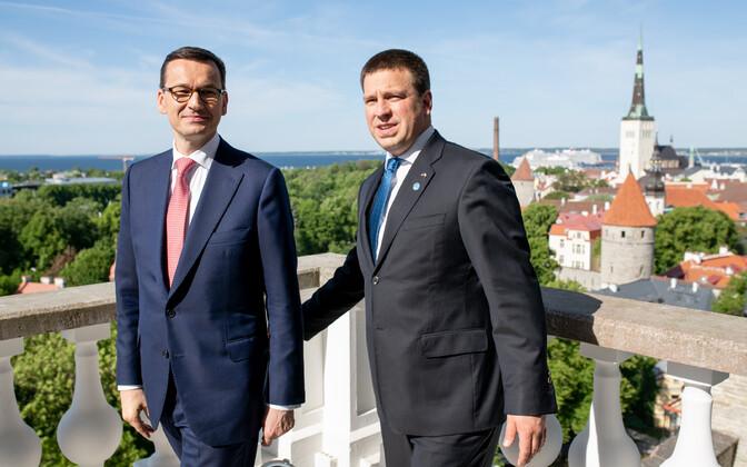 Peaminister Jüri Ratas kohtus Poola peaministri Mateusz Morawieckiga.