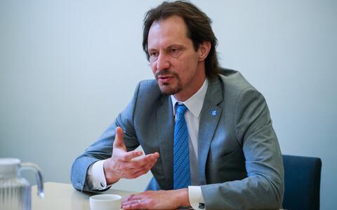 Minister of Culture Indrek Saar (SDE).