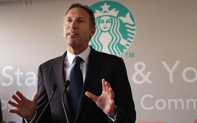 Starbucksi pikaaegne juht Howard Schultz.