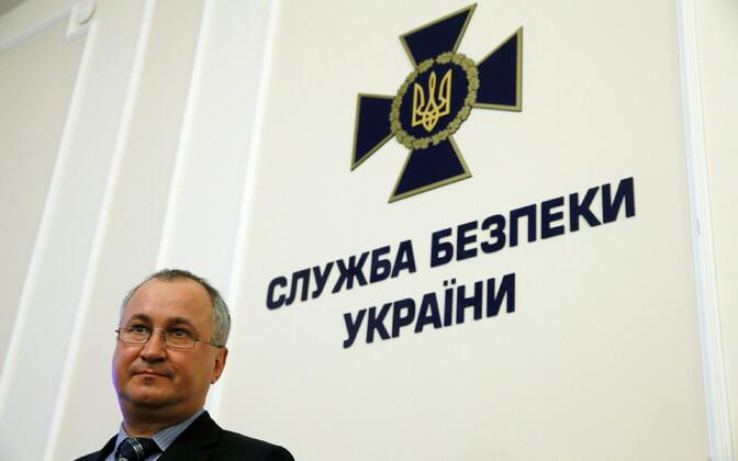 Ukraina julgeolekuteenistuse SBU juht Vassõl Hrõtsak.
