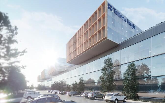 Супербольницу в Таллинне планируют построить через семь лет.